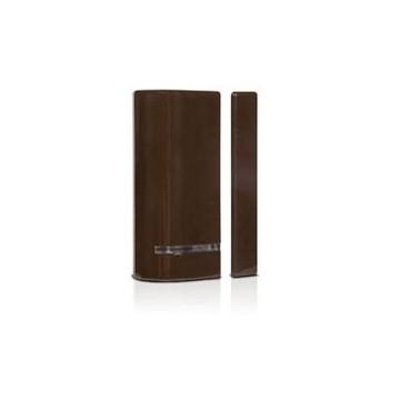 Risco 2-weg draadloos magneetcontact (bruin)